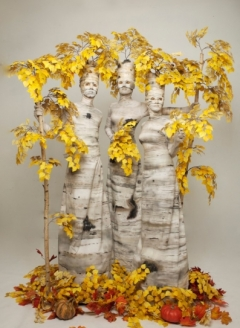 Autumn Birch Tree Trio - Imgur