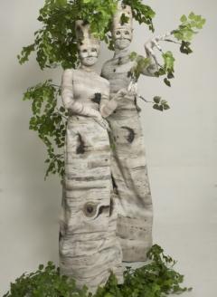 Green Birch Tree Duo - Imgur