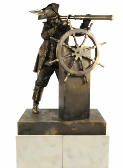 Skeleton Pirate with Ships Wheel - Imgur