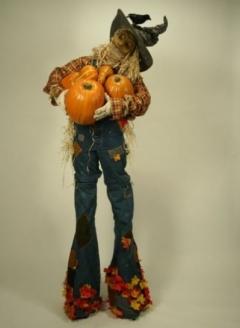 Stilt Walking Scarecrow - Imgur