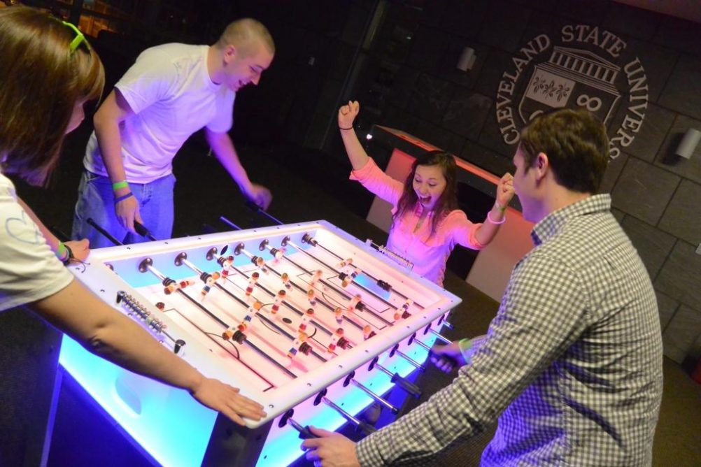 boston_party_entertainment_arcade_Glow Foosball_1