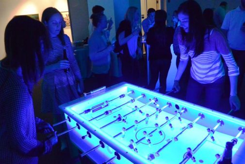boston_party_entertainment_arcade_Glow Foosball_3