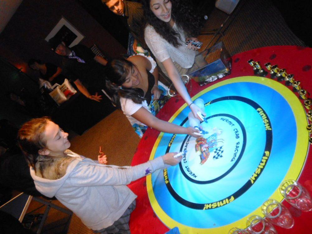 boston_party_entertainment_arcade_Hermit Crab Racing_1