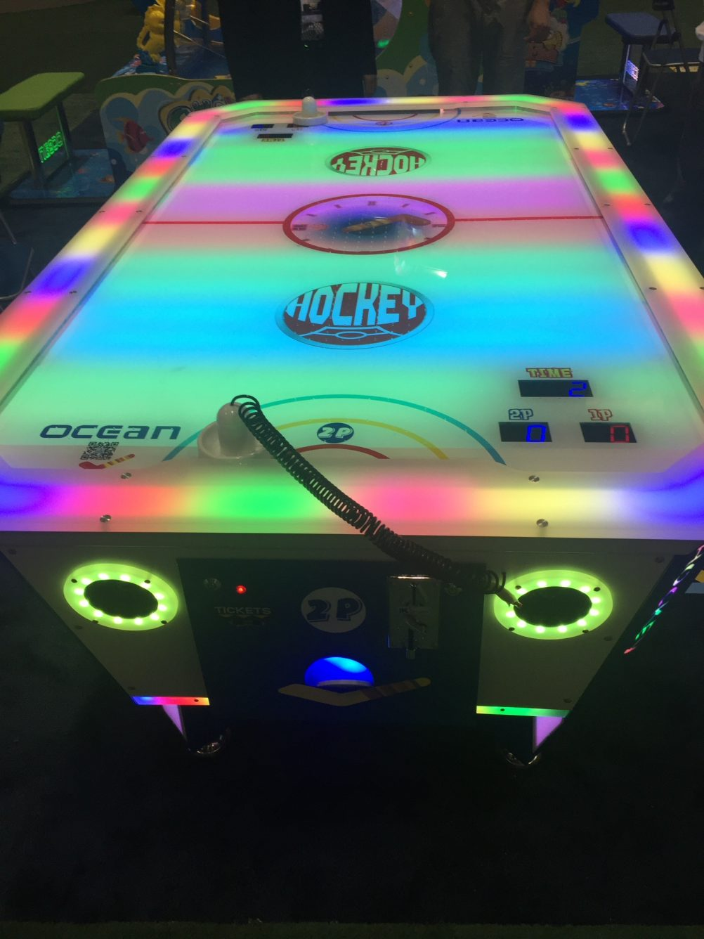boston_party_entertainment_arcade_Led Air Hockey_3