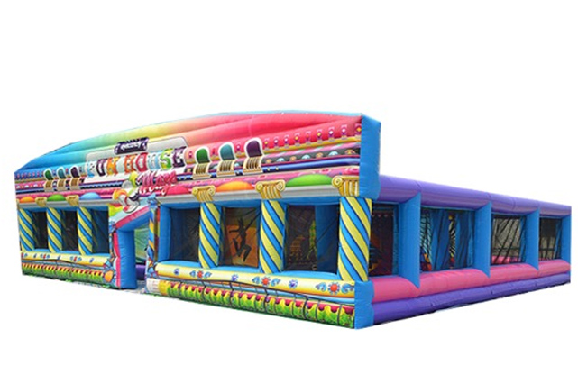 boston_party_entertainment_inflatables_Fun House Mazes_1