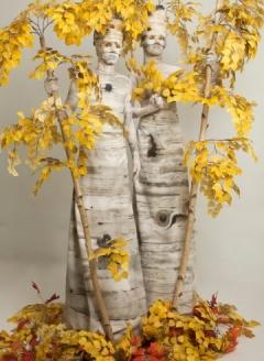 Autumn Birch Tree Duo - Imgur