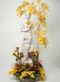 Autumn Birch Tree in Planter - Imgur