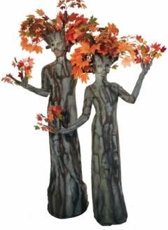 Autumn Maple Tree Duo - Imgur