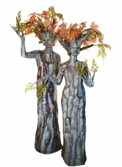 Autumn Oak Tree Duo - Imgur