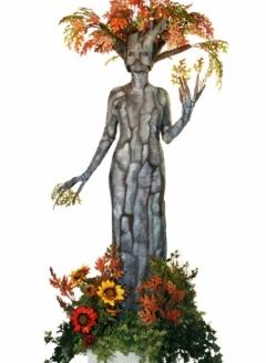Autumn Oak Tree in Planter - Imgur