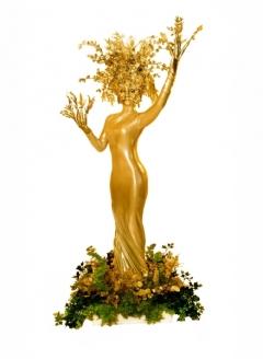 Gold Tree in Planter - Imgur