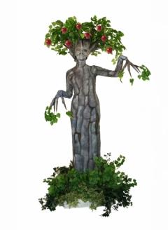 Red Apple Tree in Planter - Imgur