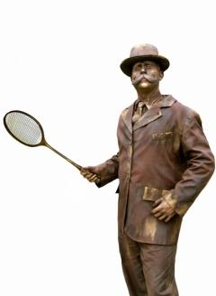 Vintage Badminton Player Male 1 - Imgur