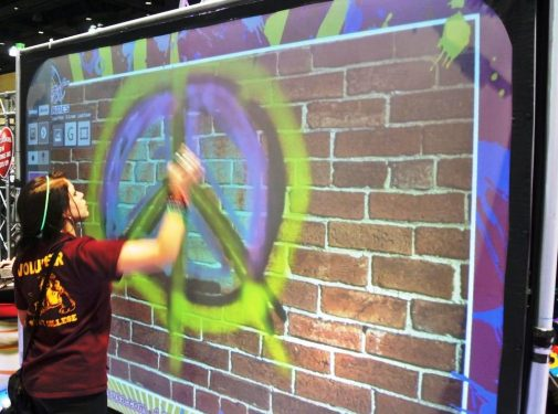 Virtual Reality & High Tech - boston_party_entertainment_virtual_reality_tech_graffiti_wall2