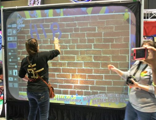 Virtual Reality & High Tech - boston_party_entertainment_virtual_reality_tech_graffiti_wall3