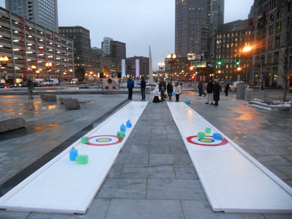 boston_party_entertainment_arcade_Synthetic Curling Lane (Pair)_1