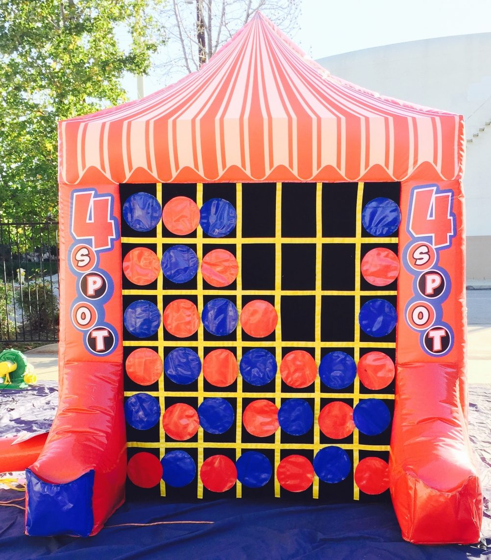 boston_party_entertainment_inflatables_Giant 4 Spot And Tic Tac Toe Combo_1