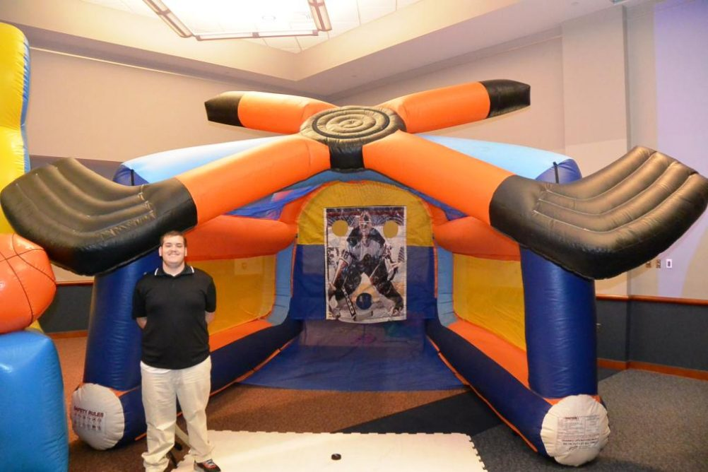 boston_party_entertainment_inflatables_Slap Shot Hockey_1
